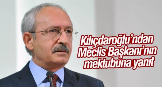 Kılıçdaroğlu'ndan Meclis Başkanı'nın mektubuna yanıt