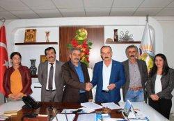 Çatak Belediyesi'nde TİS imzalandı