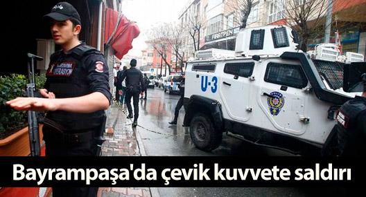Bayrampaşa'da polise saldıran iki kişi hayatını kaybetti