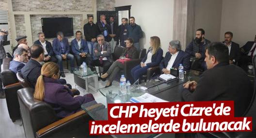 CHP heyeti Cizre'de