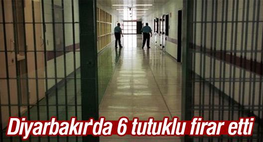 Diyarbakır'da 6 siyasi tutuklunun firar ettiği açıklandı