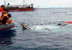 Mültecileri taşıyan tekne battı: 18 ölü