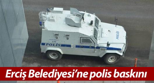 Erciş Belediyesi'ne ikinci baskın