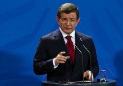 Davutoğlu: Kilis'e roketleri IŞİD attı, anında karşılık verildi