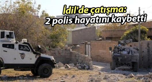 İdil'de çatışma: 2 polis hayatını kaybetti, 3 yaralı