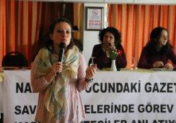 TGS : Bölgede kadın gazeteciler ölümle burun buruna çalışıyor
