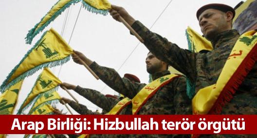Arap Birliği: Hizbullah terör örgütü