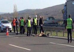 Çerkezköy TEM Otoyolu'nda feci kaza: 1 ölü