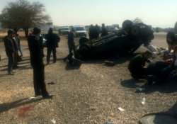 Araç takla attı: 3 ölü