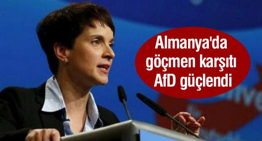 Almanya'da Merkel oy kaybetti, göçmen karşıtı AfD güçlendi