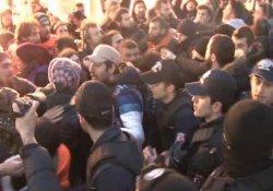Ankara eylemine polis müdahalesi!