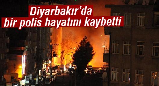Diyarbakır'da bir polis hayatını kaybetti