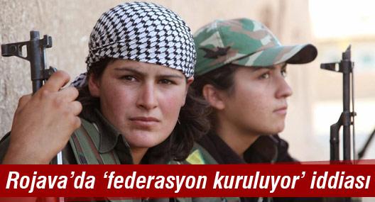 Rojavalı Kürtler 'Kuzey Suriye Federasyonu' kuruyor