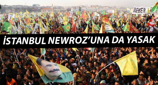 İstanbul Newrozu'na valilik yasağı