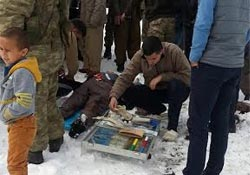 Şemdinli'de kaza: 4 yaralı
