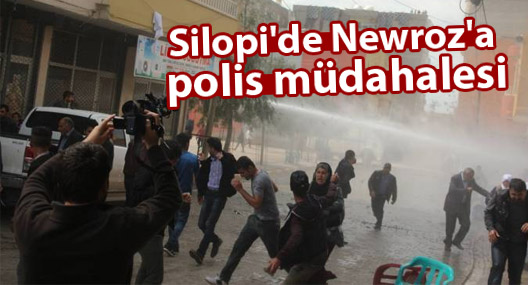 Silopi'de Newroz'a polis müdahalesi