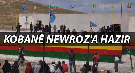 Kobanê Newroz'a hazır