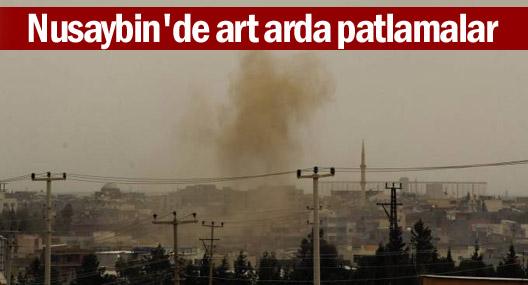 Nusaybin'de art arda patlama