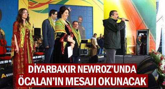 Diyarbakır Newroz'unda Öcalan'ın mesajı okunacak