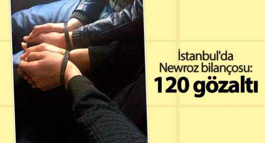 İstanbul'da Newroz bilançosu: 120 gözaltı