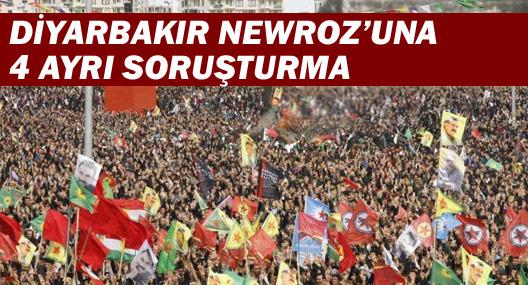 Diyarbakır Newrozu'na 4 ayrı soruşturma