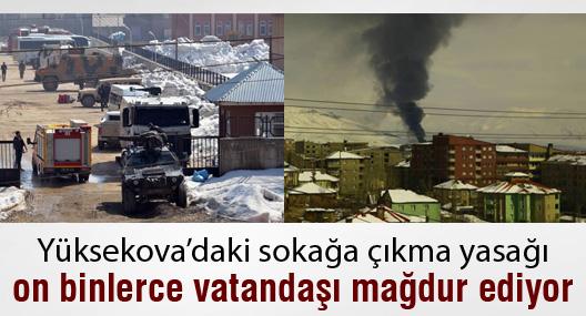 Yüksekova'daki yasak, on binlerce kişiyi mağdur ediyor