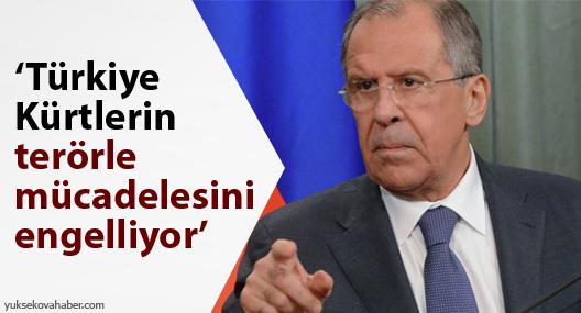Lavrov: Türkiye Kürtlerin terörle mücadelesini engelliyor