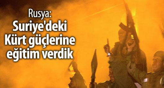 Rusya: Suriye'deki Kürt güçlerine eğitim verdik