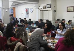Aile birliğinden öğretmenlere dayanışma yemeği