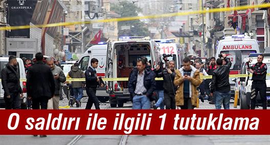 İstiklal'deki saldırı ile ilgili 1 tutuklama