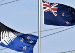 Yeni Zelanda bayrağını değiştirmedi