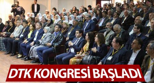 DTK 1. Olağan kongresi başladı