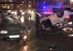 İstanbul'da feci kaza: 1ölü, 2 yaralı!