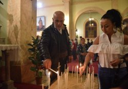 Mersin'de Paskalya Kutlaması