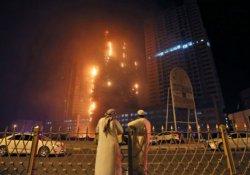 Birleşik Arap Emirlikleri'nde iki gökdelende yangın