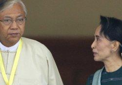 Myanmar'da yeni devlet başkanı Htin Kyaw