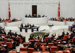 Meclis'te 'binayı boşaltın' anonsu