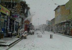 Diyadin'de Nisan karı
