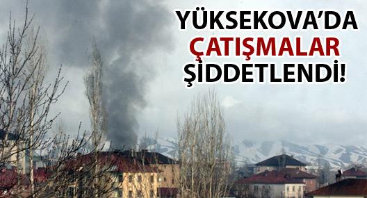 Yüksekova'da çatışmalar yeniden başladı