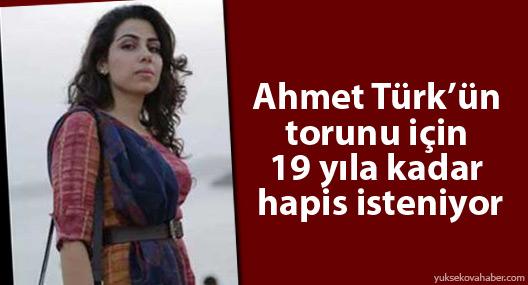 Ahmet Türk'ün torununun 19 yıla kadar hapsi isteniyor