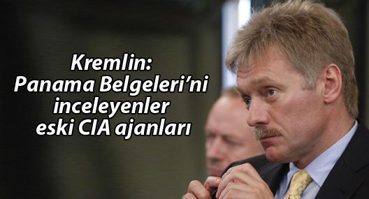 Kremlin: Panama Belgeleri'ni inceleyenler eski CIA ajanları