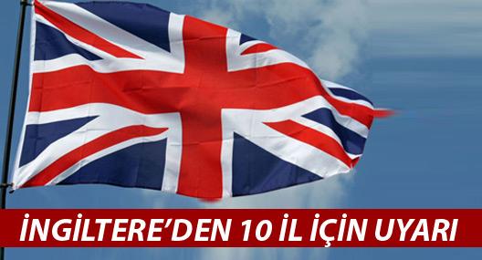 İngiltere'den kritik Türkiye uyarısı