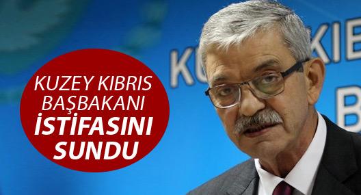 Kuzey Kıbrıs Başbakanı istifa etti