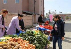 Ağrı'da Kadın Semt Pazarı kuruldu