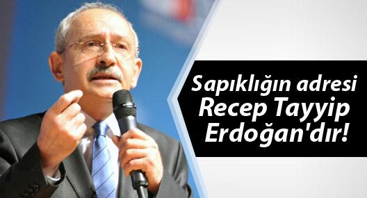 Kılıçdaroğlu: Sapıklığın adresi Recep Tayyip Erdoğan'dır!