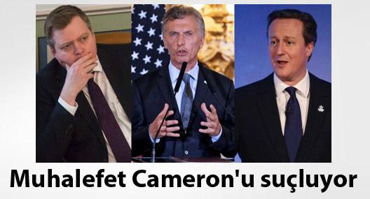İngiltere'de muhalefet Başbakan Cameron'u riyâkarlıkla suçluyor