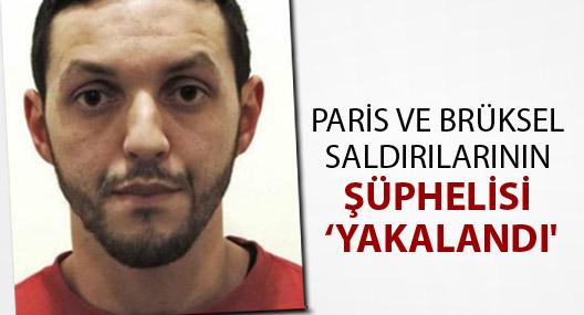 Paris ve Brüksel saldırılarının şüphelisi Abrini 'yakalandı'