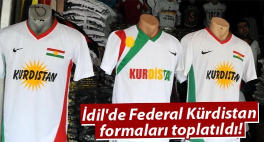 İdil'de Federal Kürdistan formaları toplatıldı!