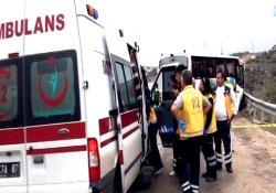 Mersin'de feci kaza:2 ölü 5 yaralı