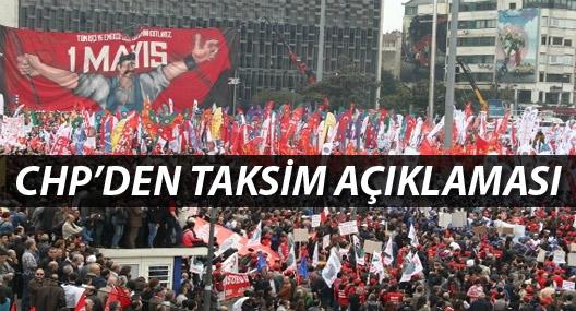 CHP: Taksim'i takıntı haline getirmeyelim